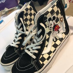 Limited Edition Mickey Mouse Vans